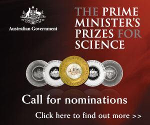 2013 PRIME MINISTER'S PRIZES FOR SCIENCE