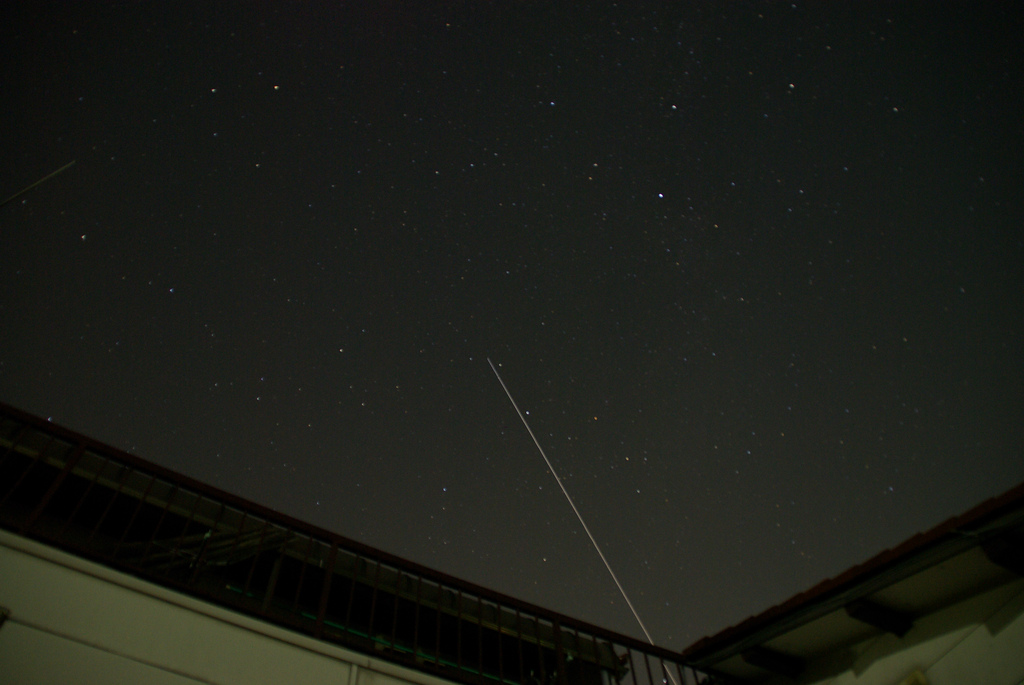 International Space Station Flying By - captured by Takashi Ota, Japan