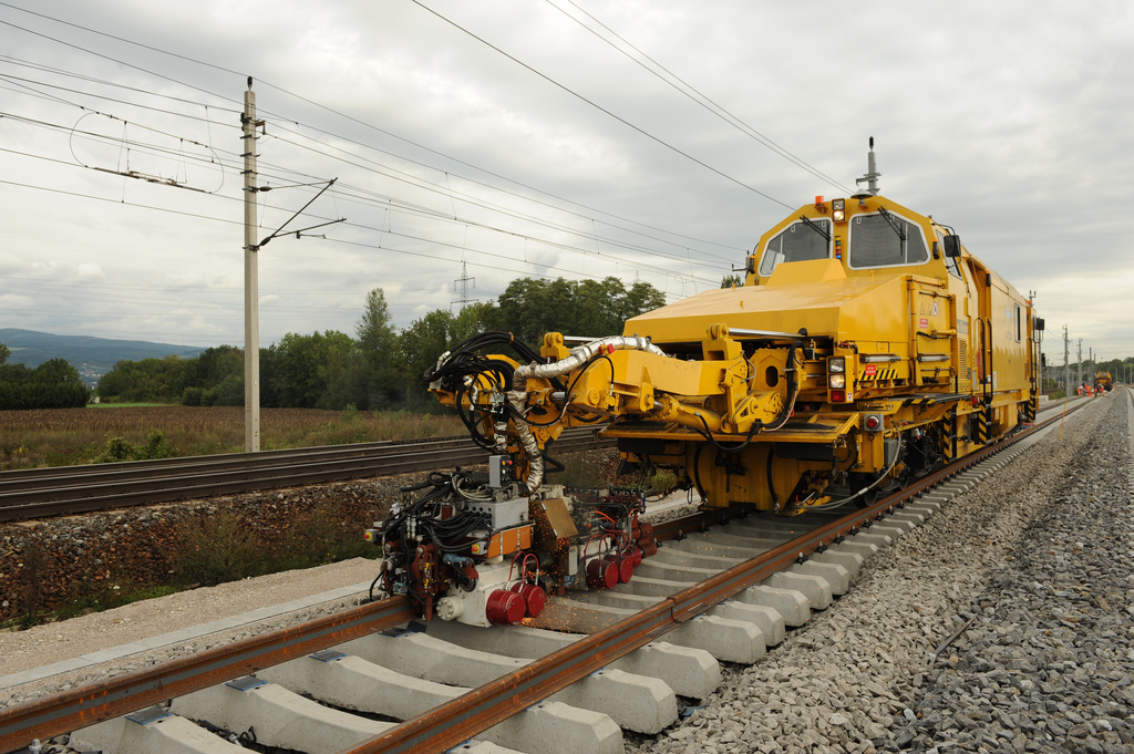Dr. Josef Theurer is nominated in the category Lifetime achievement for his railway track-laying machines