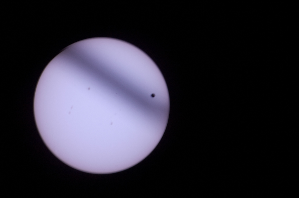 Transit of Venus by NASA_JSC_Photo
