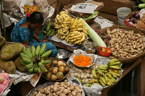 Indian fruit stall