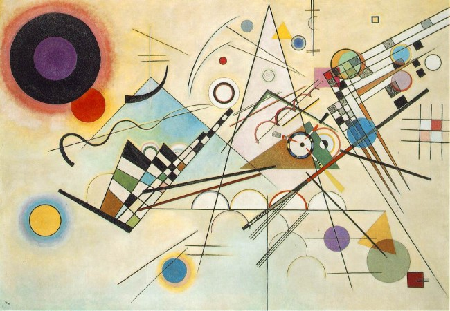 Kandinsky: &quot;Composition 8&quot;
