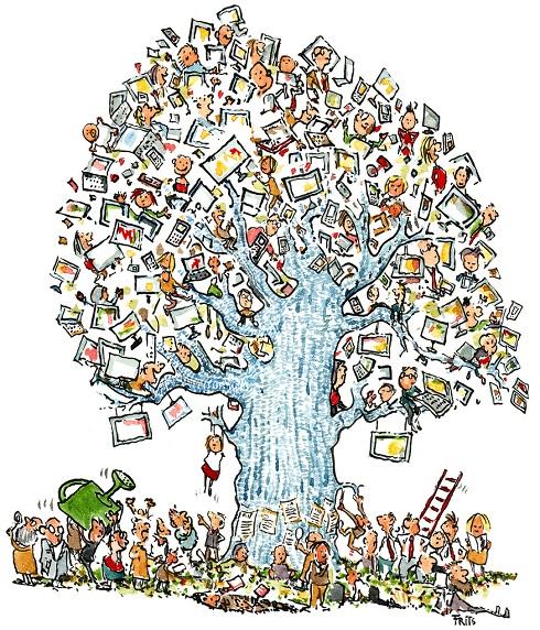 Virtual tree