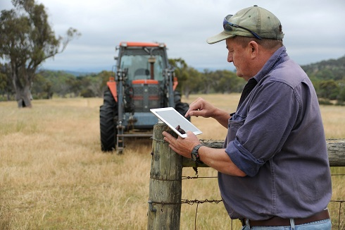 The SoilMapp for iPad will allow farmers and others to access real time information about their soils from in the field.