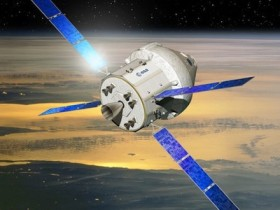 The new look Orion spacecraft