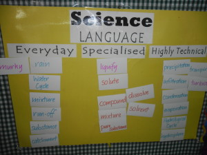 Talking the Language of Science