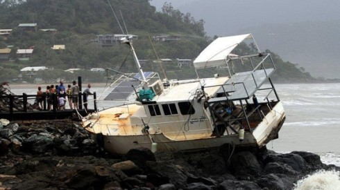 Cyclone Oswald, Eastern Australia, 29 Jan 2013. (itv.com, Photo: Reuters)