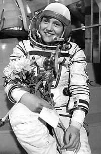 Svetlana Savitskaya & other cosmonauts