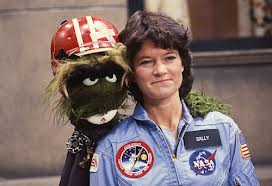 Sally Ride and Muppet