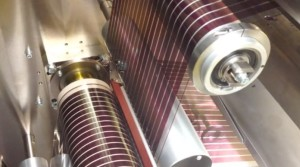 Printing Australia's largest flexible solar cells