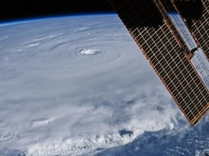 Hurricane Earl near Puerto Rico in August 2010, as seen from the International Space Station. Credit: NASA
