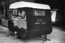 ABC Mobile Studio Caravan - Australian Broadcasting Corporation